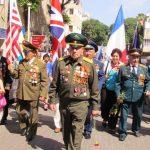 Парад Победы в Хайфе 2013