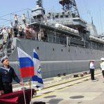 Хайфские ветераны и инвалиды войны на корабле ВМФ России «Азов»