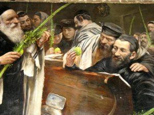kartina V sinagoge
