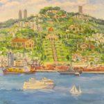 Путешествие по Хайфе в картинах художницы