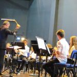 На хайфской сцене — молодежные духовые оркестры