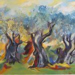 Годовая выставка работ в Доме Союза художников Бейт Шагал