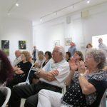 Работы отправились по домам, авторы творить. Закрытие годовой выставки Бейт Шагал