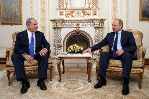 ראש הממשלה בנימין נתניהו נפגש עם נשיא רוסיה ולדימיר פוטין3. קרדיט- דוברות שגרירות ישראל ברוסיה