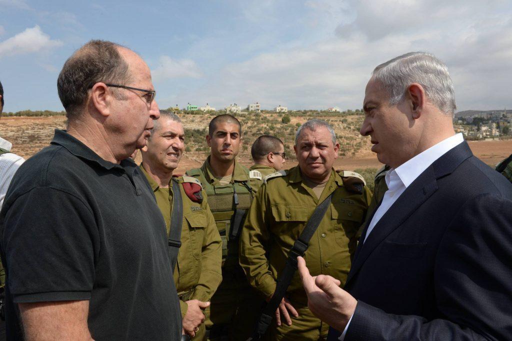 סיור ראש הממשלה בנימין נתניהו באיו''ש. צילום עמוס בן גרשום לע''מ-3