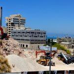 Закладка камня в строительство нового жилого комплекса в Вади Салиб