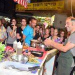Уличные выступления, ярмарки, кулинарное изобилие и уроки кулинарии на хайфском рынке