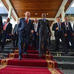 Тур по Африке. Правительственный визит в Руанду