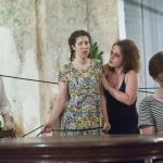 Три оперных постановки —  «Поворот винта» Бриттена, «Свадьба Фигаро» и «Травиата» Верди