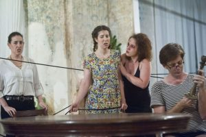 Репетиция оперы Поворот Винта Бриттена - фото Максим Рейдер (4)