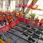 Журналистский обзор строительных объектов тель-авивского метротрамвая