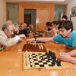 Шахматный турнир между ветеранами и школьниками 2017