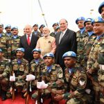 Визит Премьер-министра Индии Нарендра Моди в Хайфу
