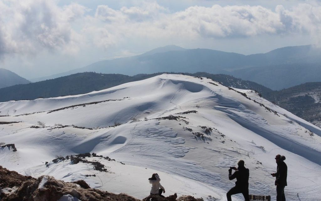 Праздник зимних наслаждений на горе Хермон