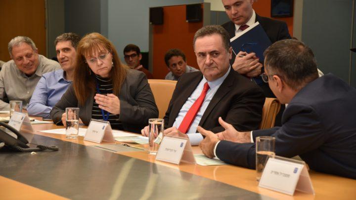 13 февраля специальное совещание министра иностранных дел Исраэля Каца по проблеме коронавируса и поездка профессора Итамара Гротто в Японию