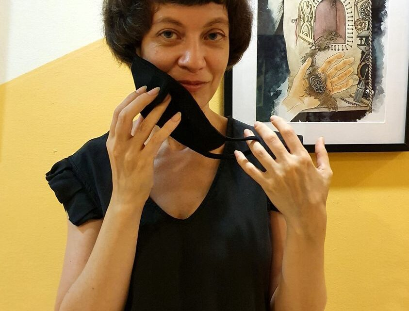 Выставка Лилии Гойзман в матнасе «Адар»