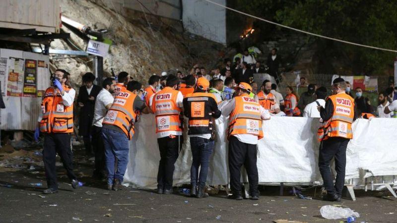 От минут высшей радости — к скорби. 45 из прибывших на гору Мерон для празднования Лаг ба-Омер паломников погибло в давке