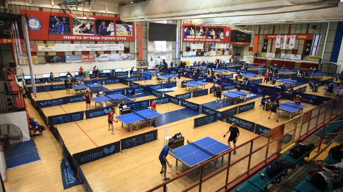 В Хайфе впервые стартует чемпионат Израиля по настольному теннису